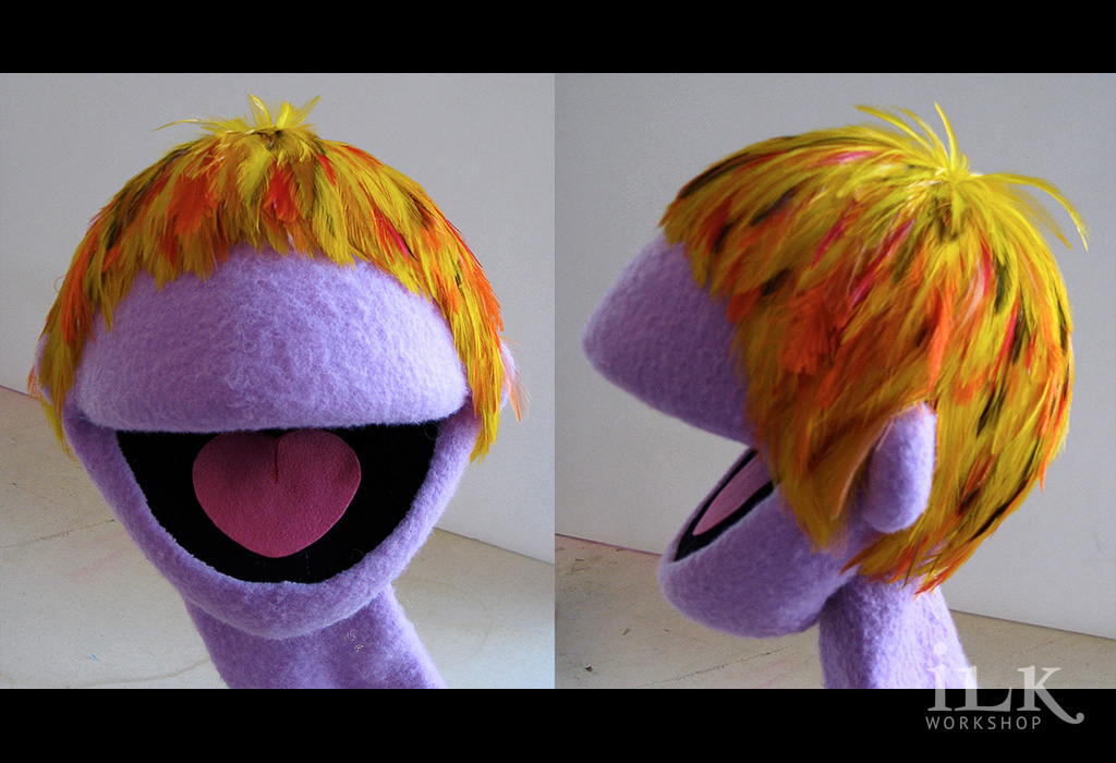 Muppet Feather Wig