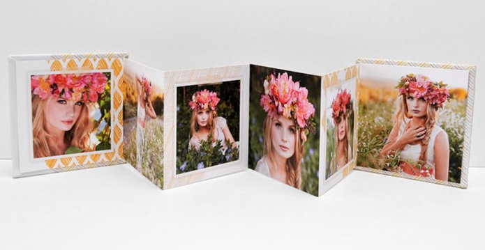 Mini-Accordion Books (Set of 3) $120