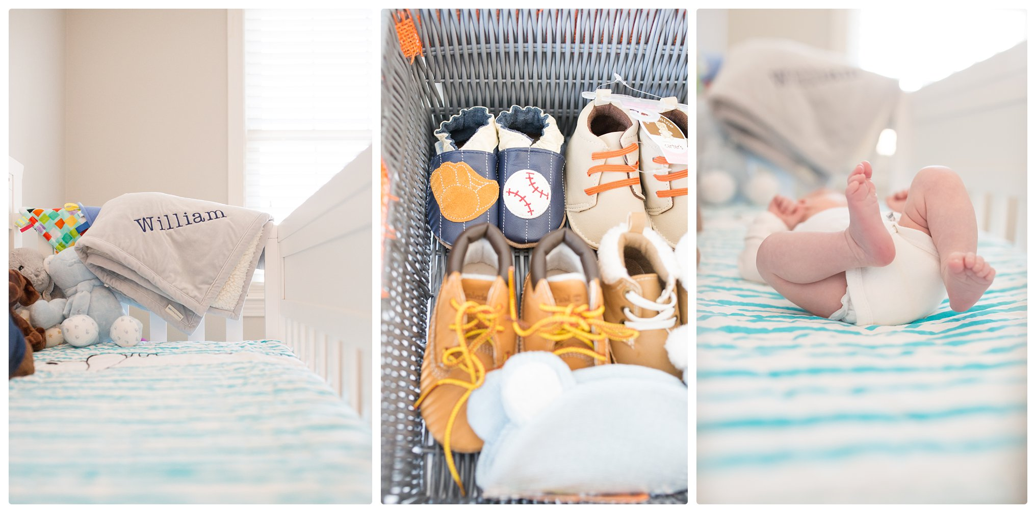 Newborn nursery details in Massachusetts