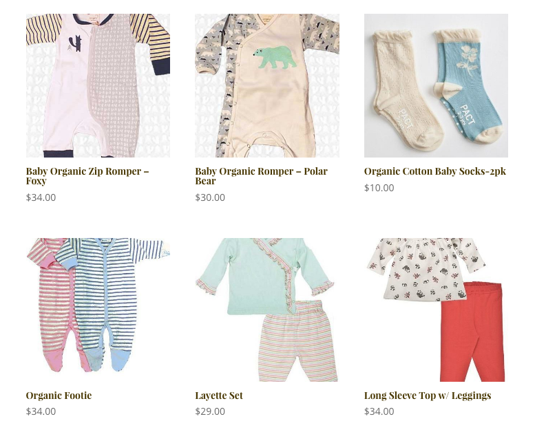 Featured baby products for newborns and toddlers in Massachusetts and on Cape Cod.