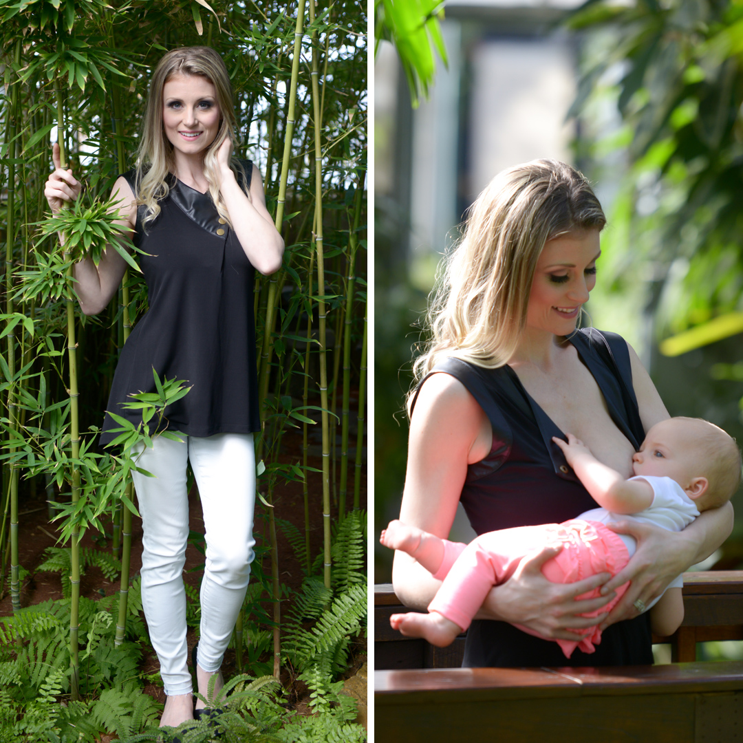 Vida Leche Amor, a company providing breastfeeding clothing that is fashionable, to new moms in Massachusetts.