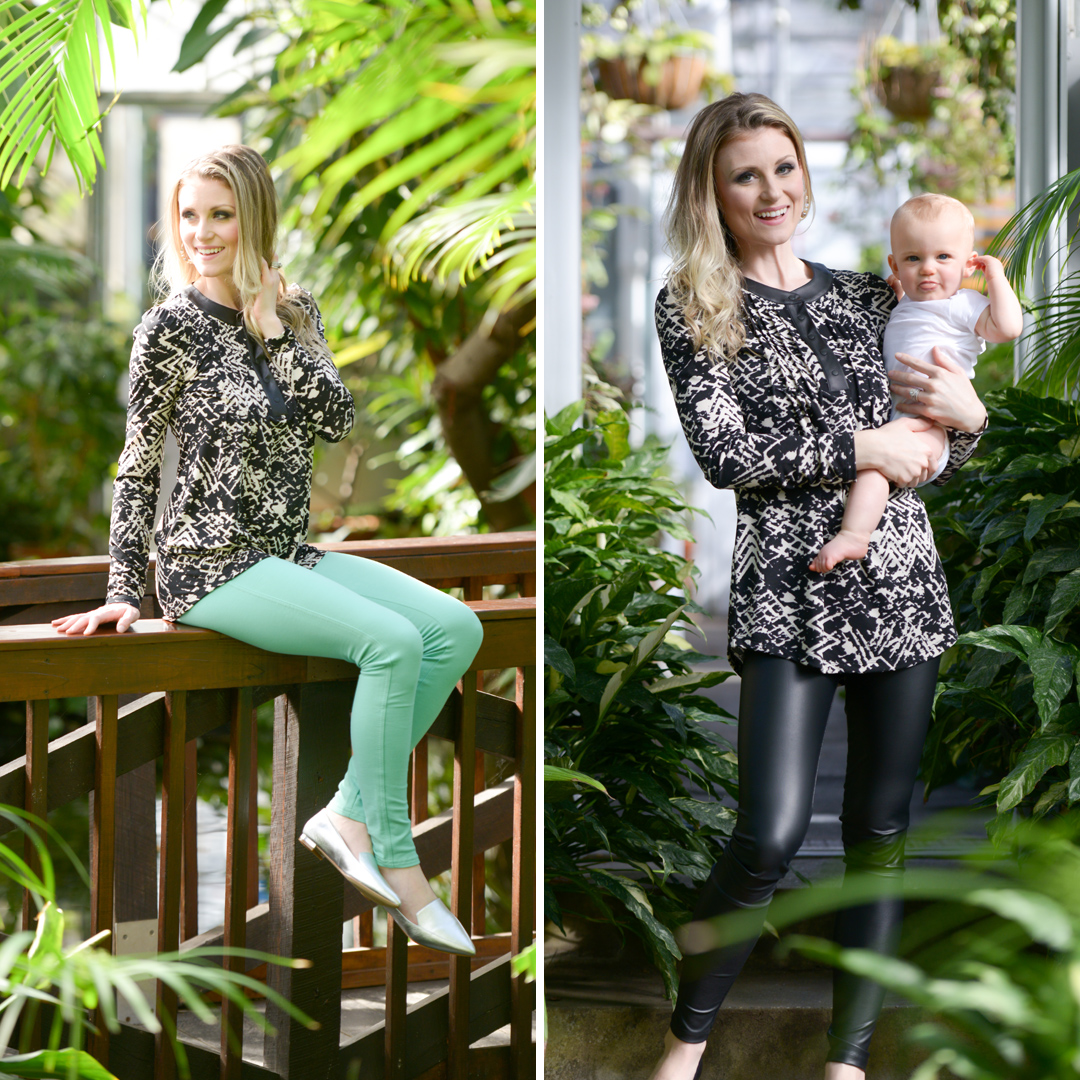 Boston newborn and Maternity photographer - new clothing line for New Moms to ease breastfeeding.