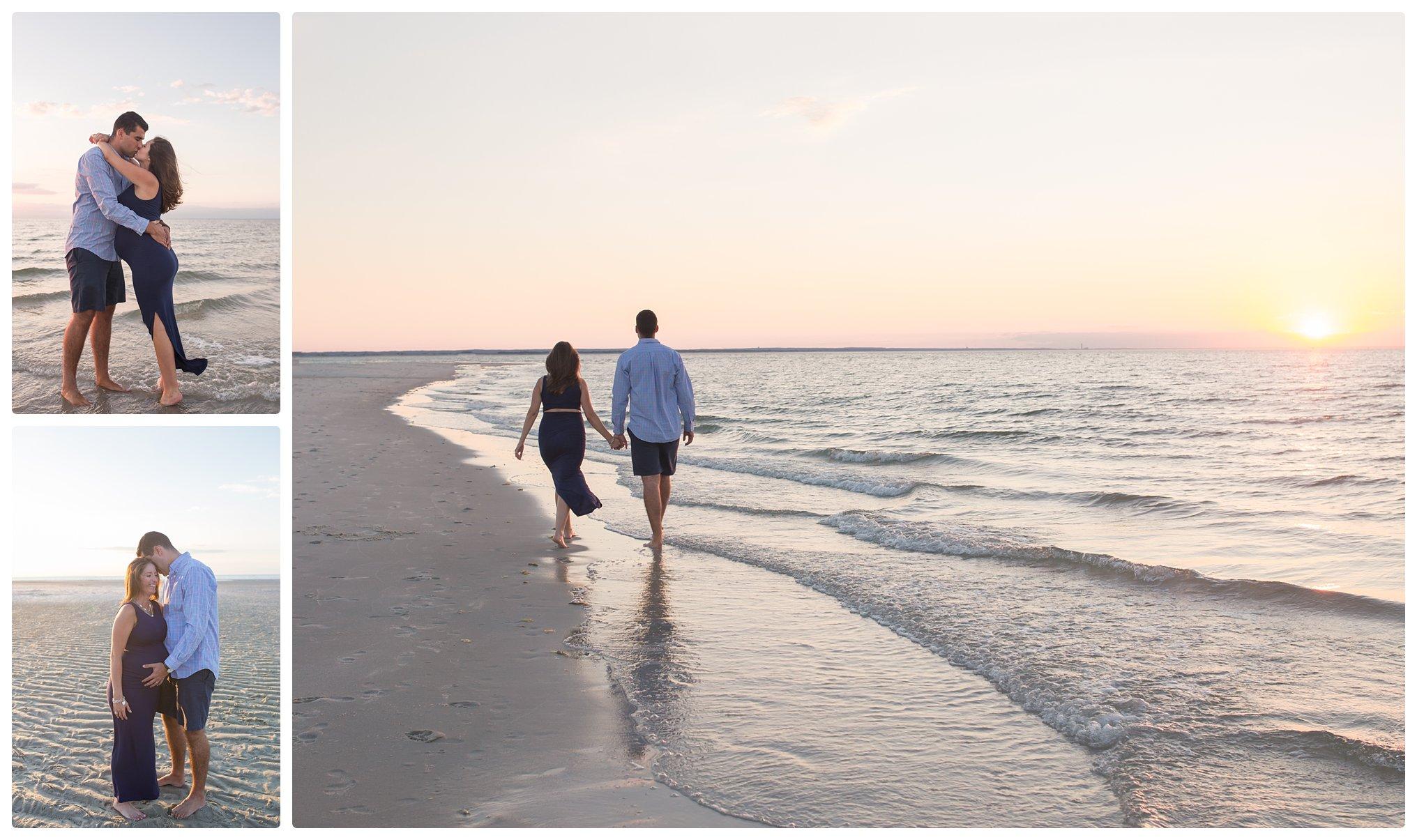Sunset photos at Mayflower Beach in Dennis Massachusetts
