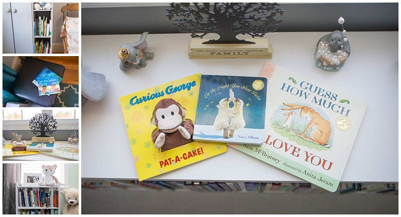 Newborn nursery baby books, Boston and Cape Cod