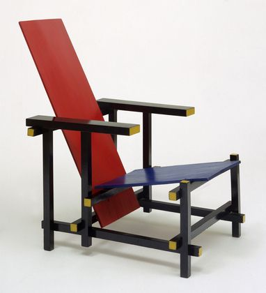 The Red & Blue chair