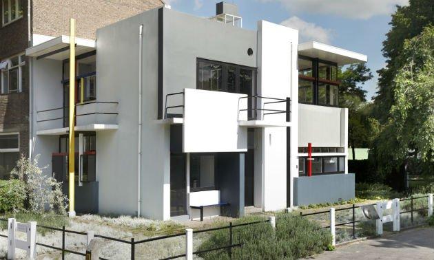 The Rietveld-Schroder House, b. 1924