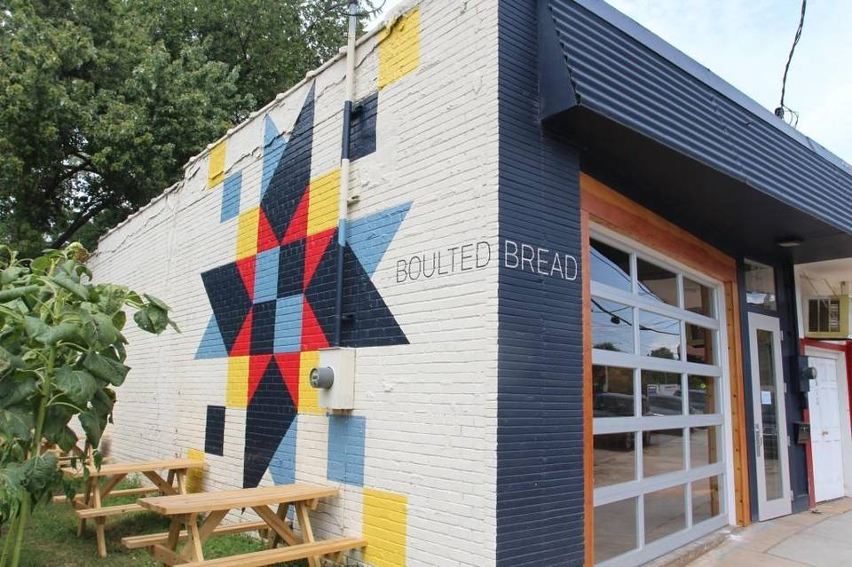 Stop by early for the best selection at  Boulted Bread