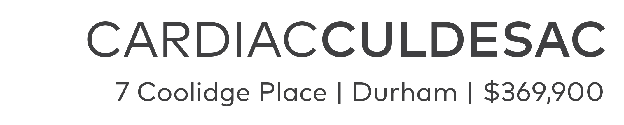 Cardiac on Cul-De-Sac, Durham NC | Listing Agent: Susan Ungerleider of RED Collective