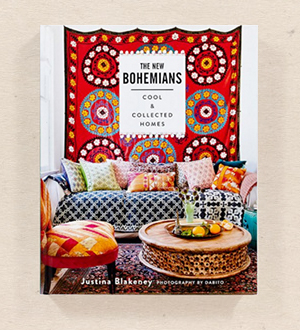 "Stylist Justina Blakeney's    ""The New Bohemians""    book is a go-to for anyone who likes a hippy eclectic vibe in their interior decor."