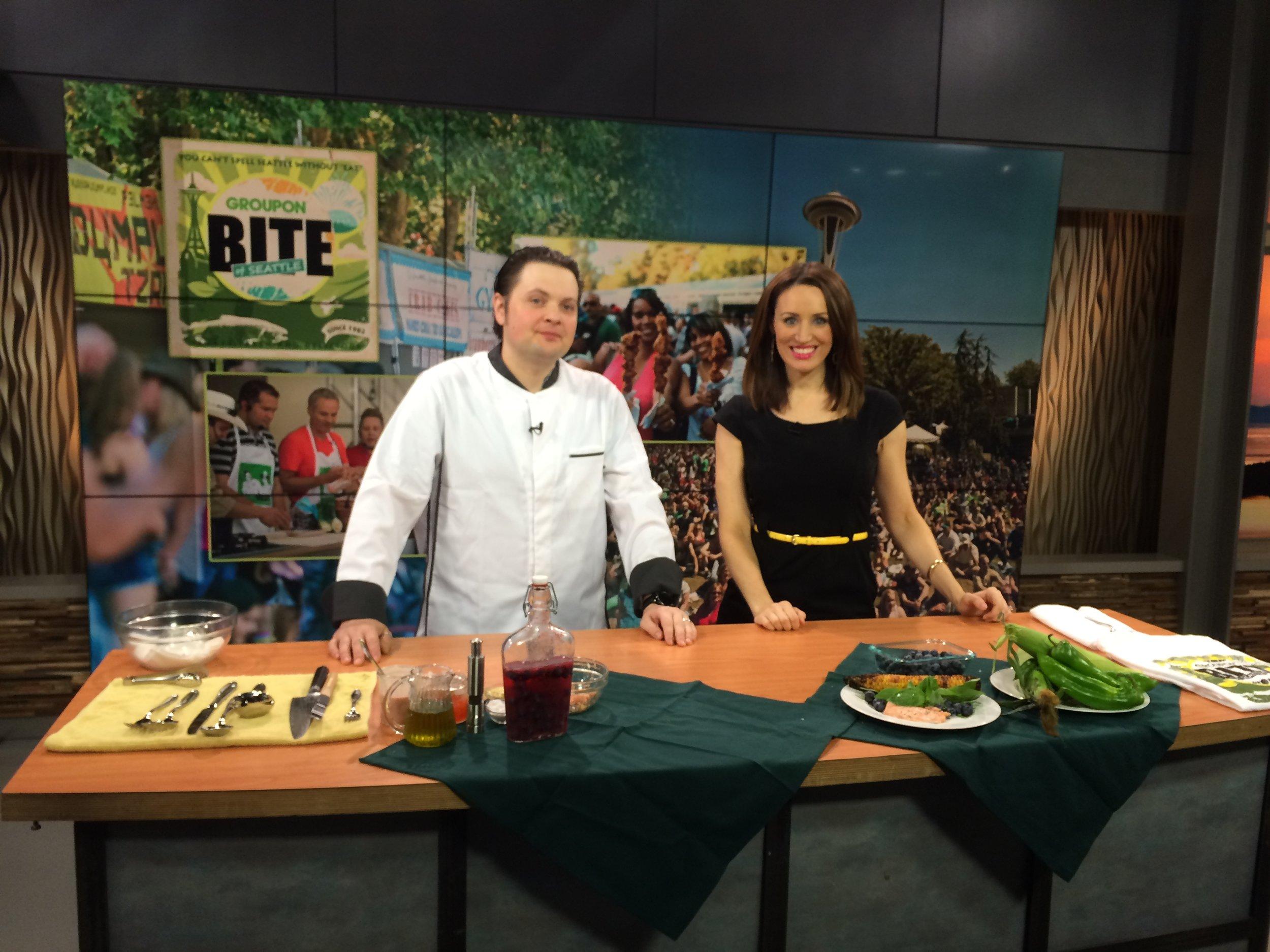 Chef Rob Sevcik on Q13 Fox Bite Cooks preview 1.JPG
