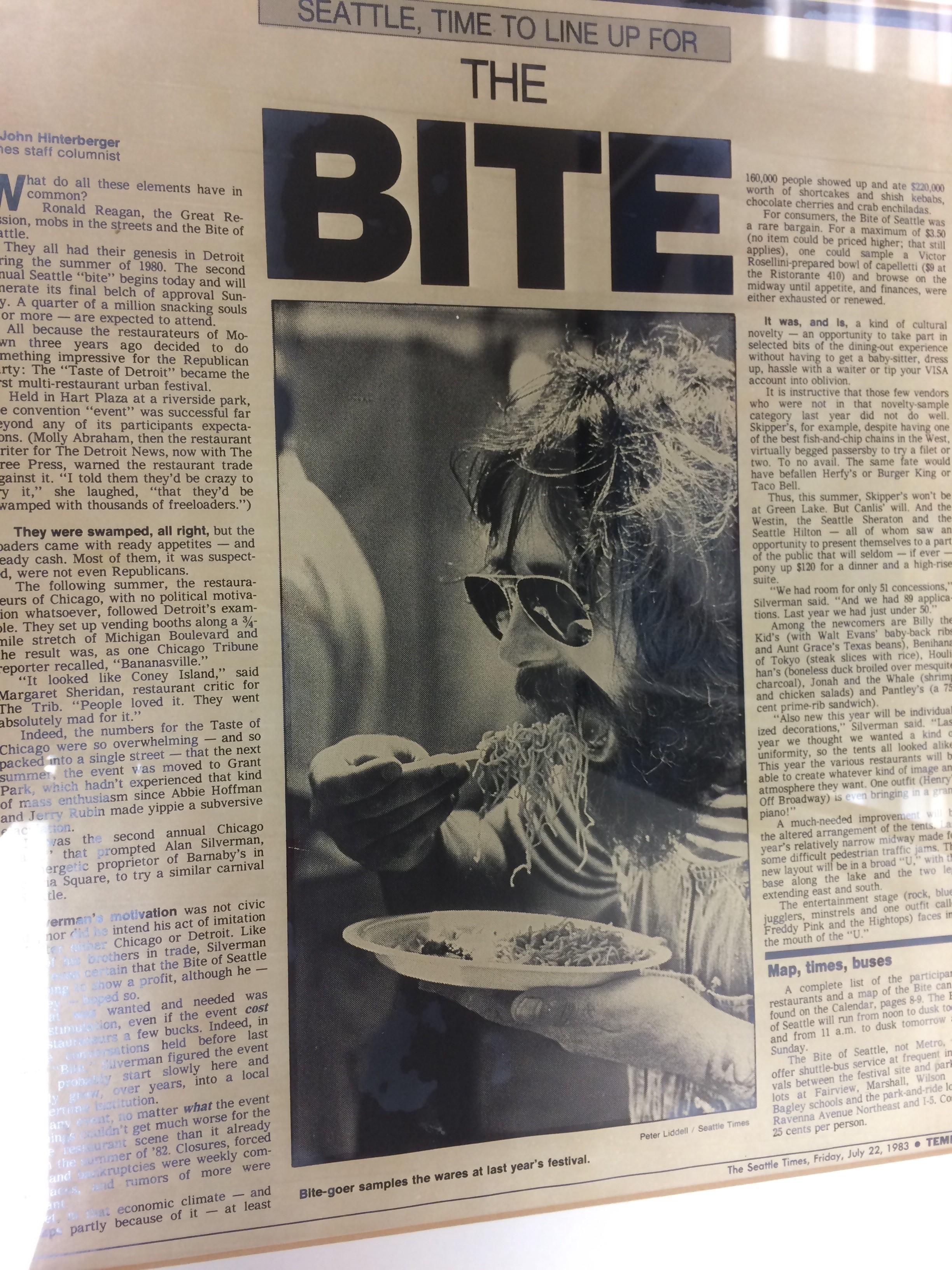 Bite of Seattle at Green Lake - newspaper.jpg