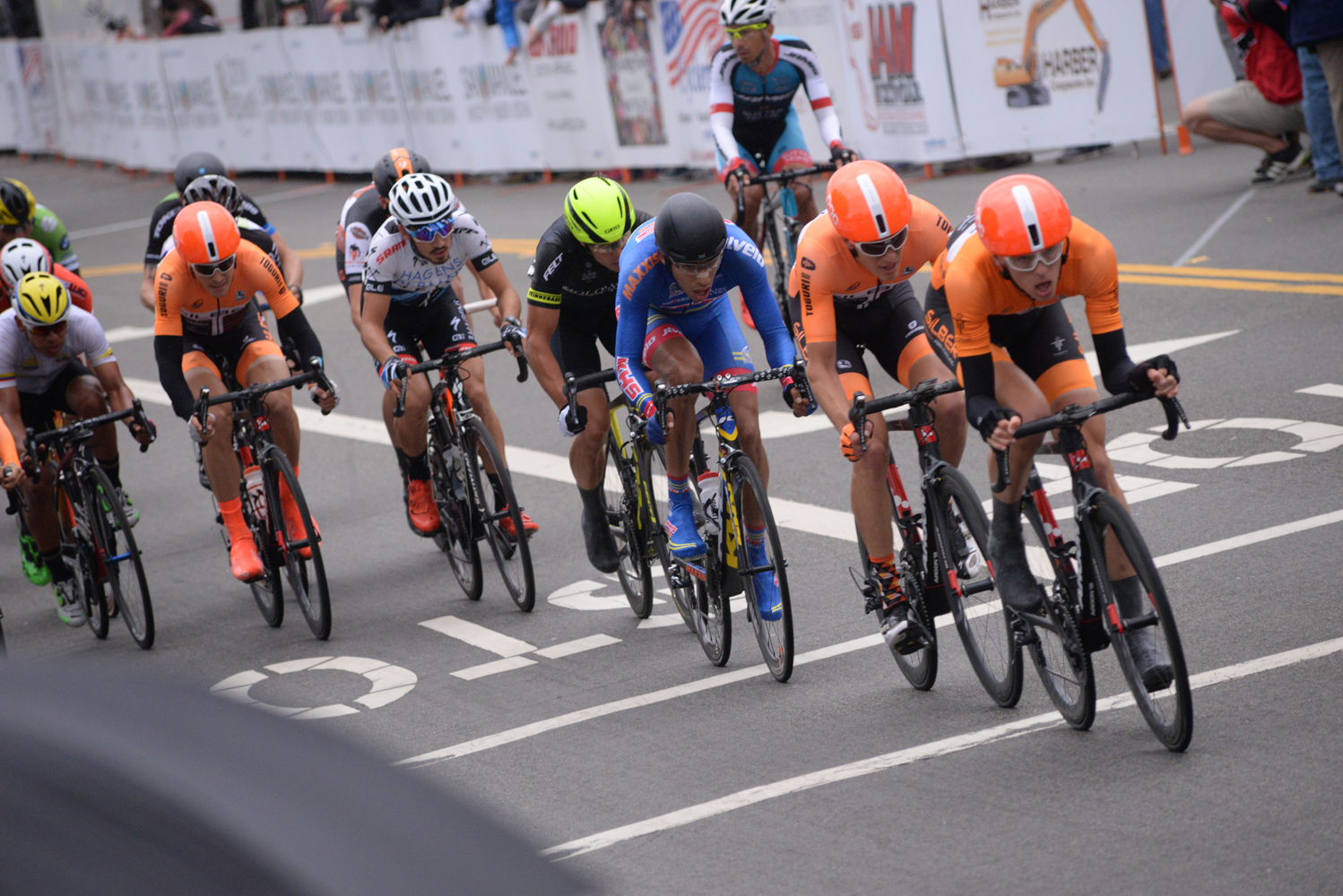 A couple teams took control a couple times at the end of the crit.