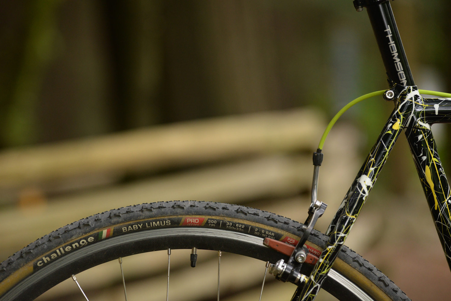 A detail of Ross's bike. There's a full gallery of it built in the 'photography' section of the site.