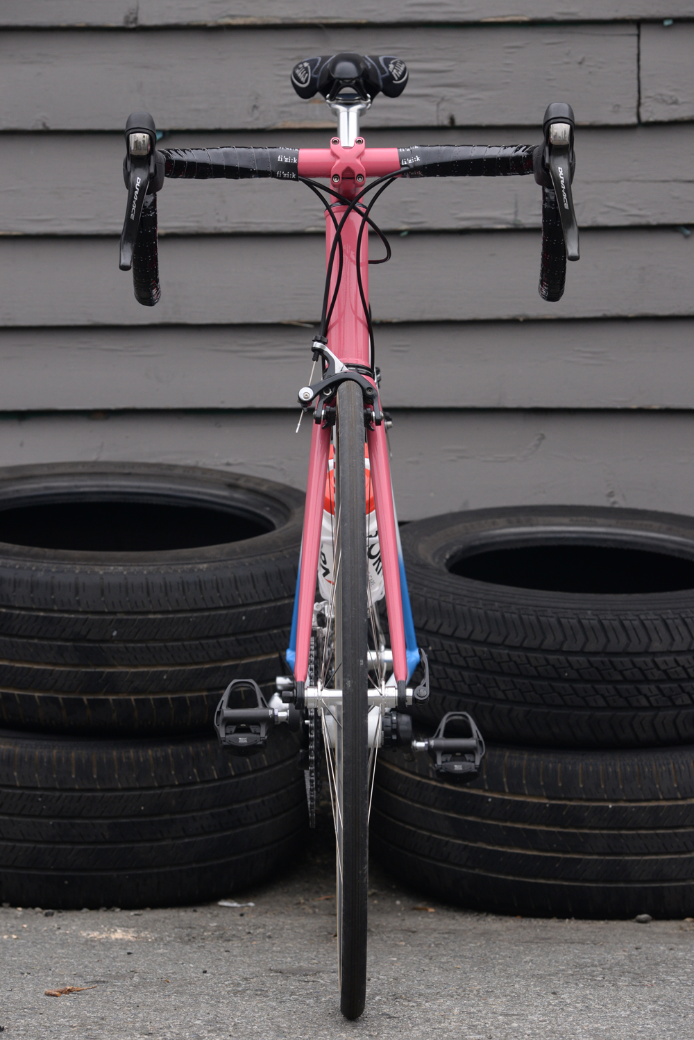Dave's  Whishart , I shot this for work, and also because it's sweet. It say's CRITERIUM on the top tube.