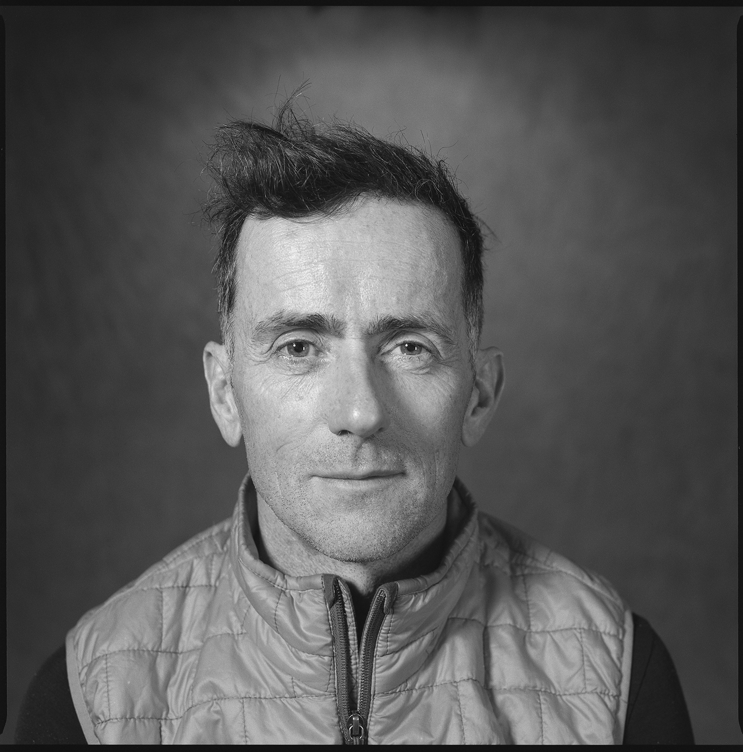 Mark Sherman, portrait shot at Studio Threee