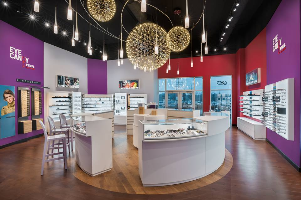 Americas Finest Optical Retailer - 3rd Place!   Eye Candy Optical: Next Level Candy Crush!  Find out more about this one of a kind optical and office!   more