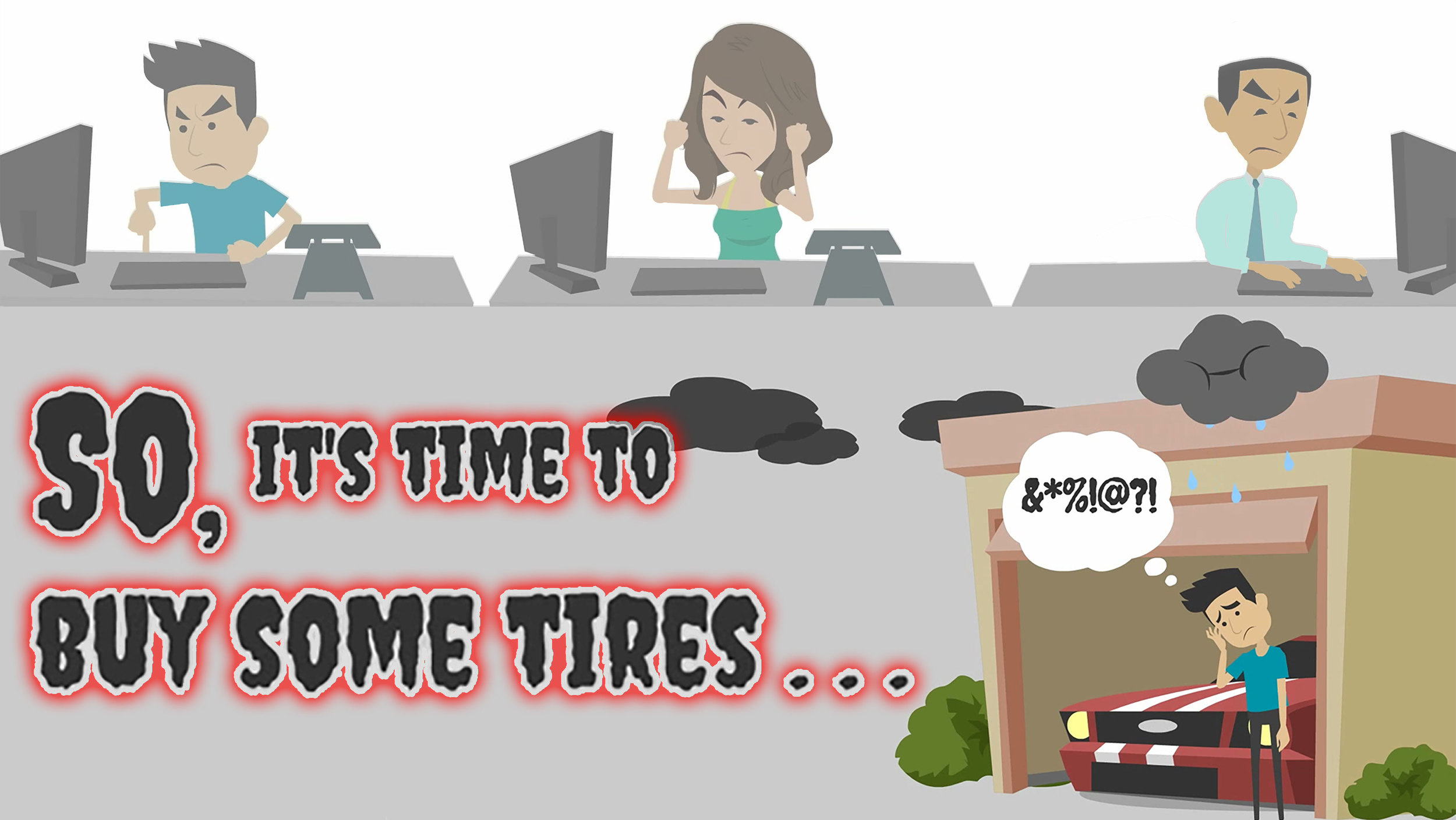 The reaility of tire shopping: It either sucks or it can be a cinch.