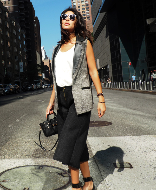 Look de la diseñadora colombiana Isabel Caviedes  @isabelcaviedes