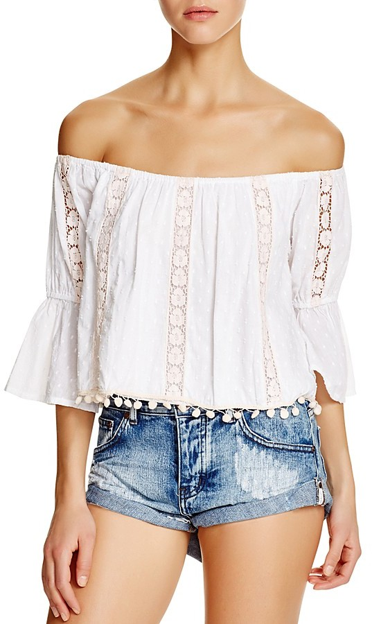 CAMISA OFF SHOULDER I TULAROSA