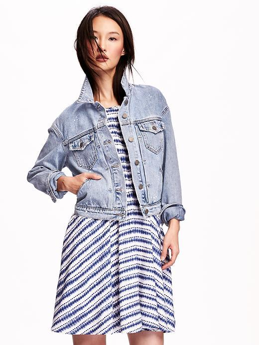 CHAQUETA DENIM I OLD NAVY