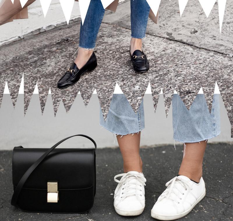 Tendencias de jeans  para usar con tenis, mas looks del blog top 5 fashion