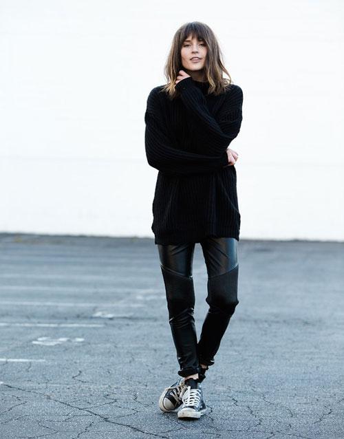 El minimalismo normcore es la tendencia favorita en negro de top5 fashion