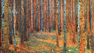 """Gustav Klimt, 1902 """"Tannenwald"""""""
