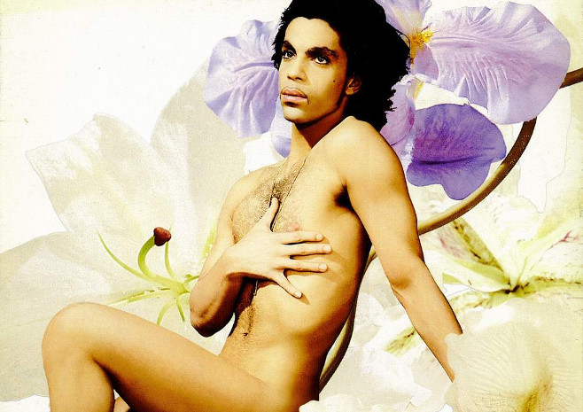 "Prince's ""Lovesexy"" album cover (1988)"