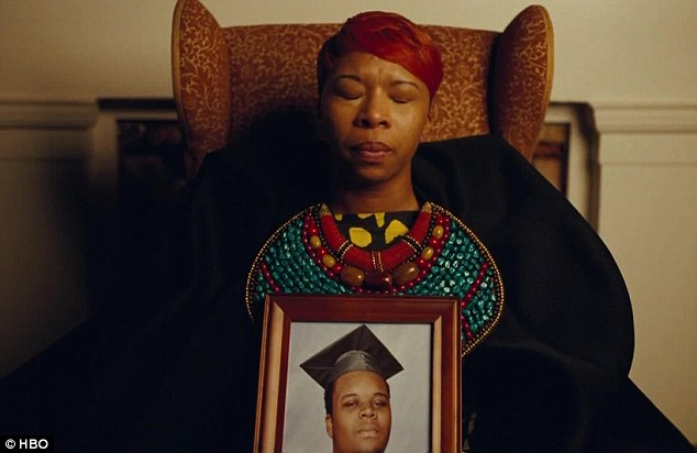 Lesley McSpadden, mother of Michael Brown, who died August 2014.