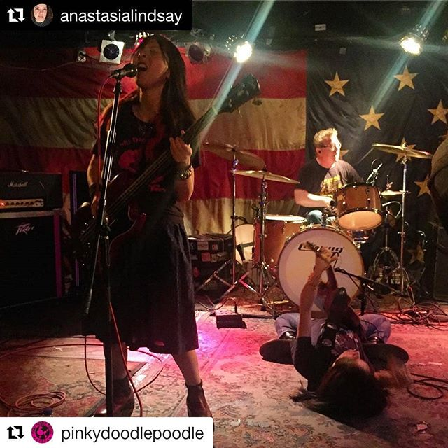 #Repost @pinkydoodlepoodle (@get_repost) ・・・ Thank you for coming to PDP show at The Nick Rocks last night!! We're very glad to be here again!