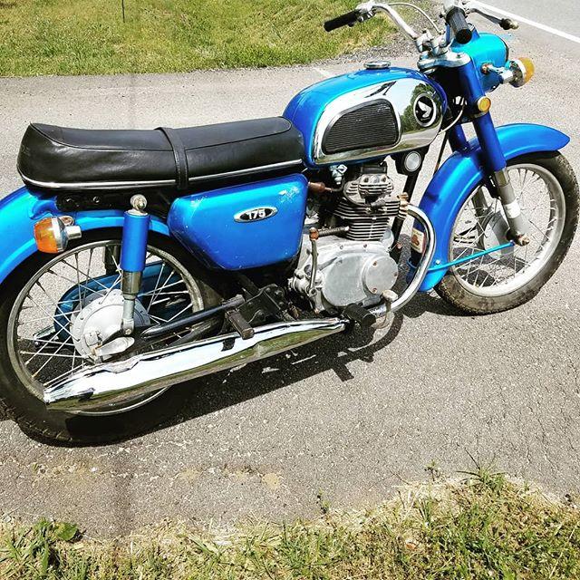 1970 Honda Dream 175cc. Enquire within. $2k.