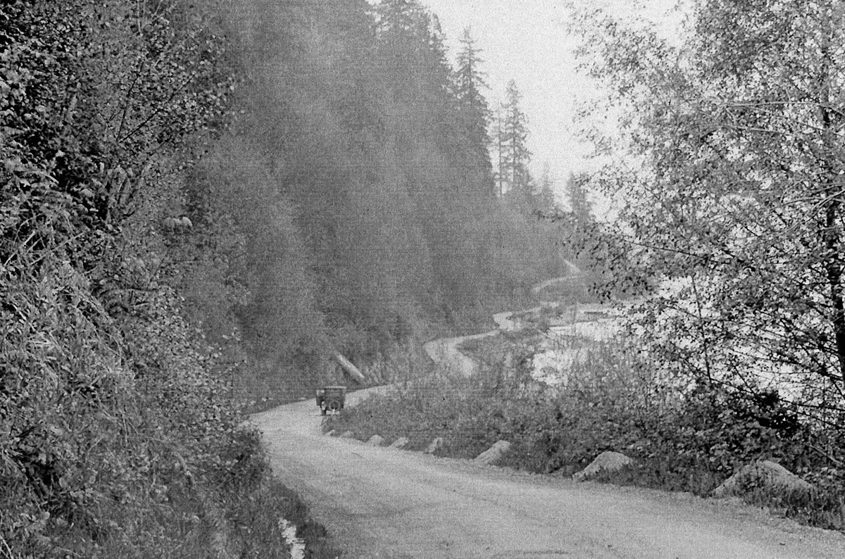The Malahat (View Royal Archives, Pearce collection, via  Colonial History Vancouver Island .)