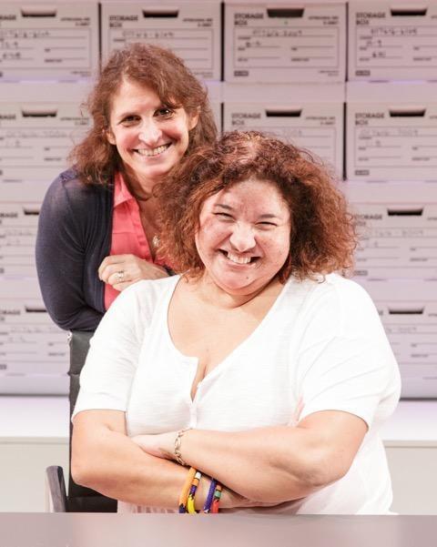 (from left) DeLanna Studi and Tina Benko