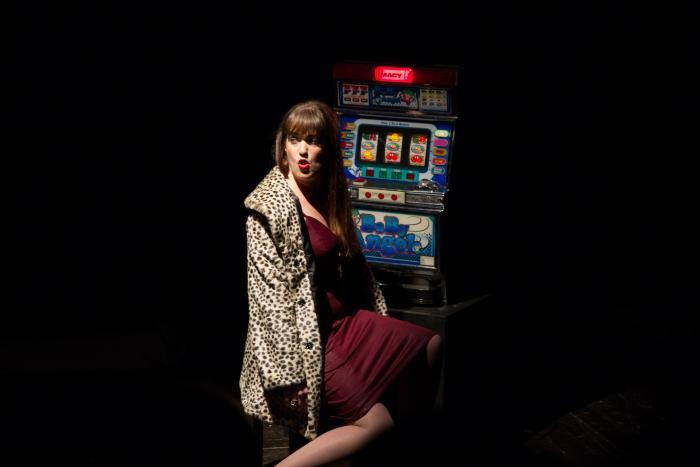 Shitloads of Money by Brendan Hill. Megan Hill. Photo Credit: Jody Christopherson