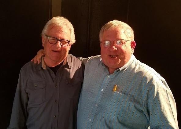 EST/Sloan science advisor Stuart Firestein (left) and Stephen O. Andersen