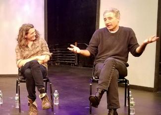 Lucas Hnath and Brian Greene
