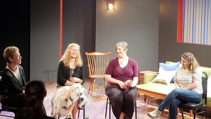 From left: Robin Marantz Henig, Debra Pascali-Bonaro, Rebecca Tannenbaum, Chiara Atik
