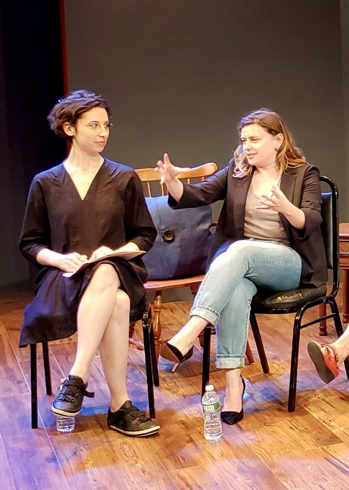From left: Sonia Shechet Epstein and Chiara Atik