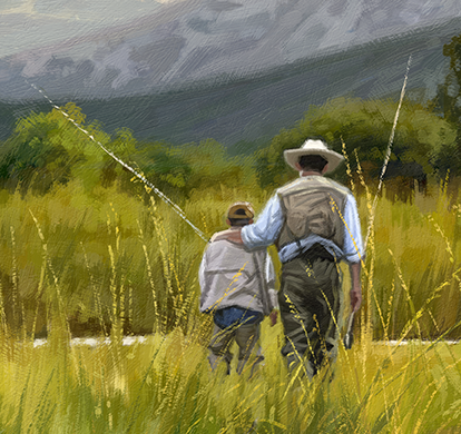 Omaž ribolovcu i ribolovu - Page 13 Gone+Fishing+crop+father+and+son+fishing