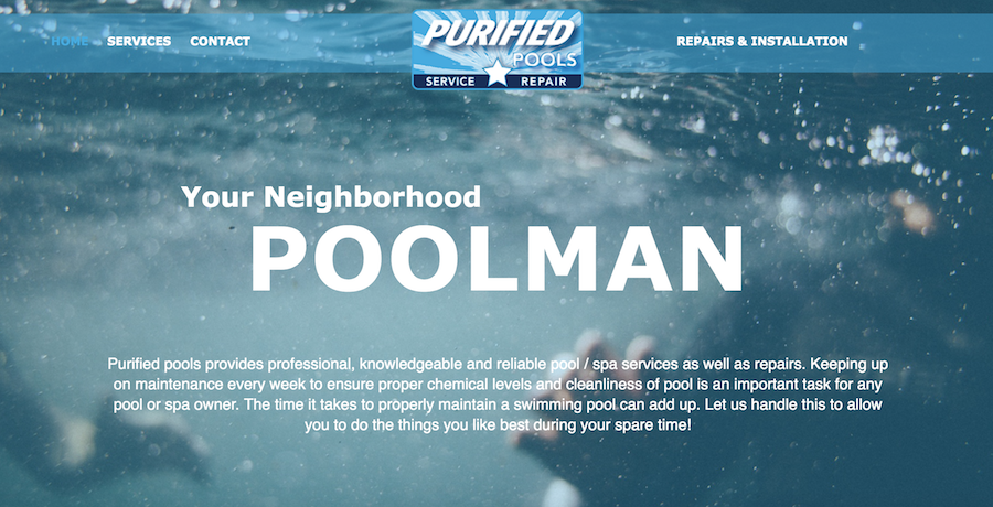 Purified Pools
