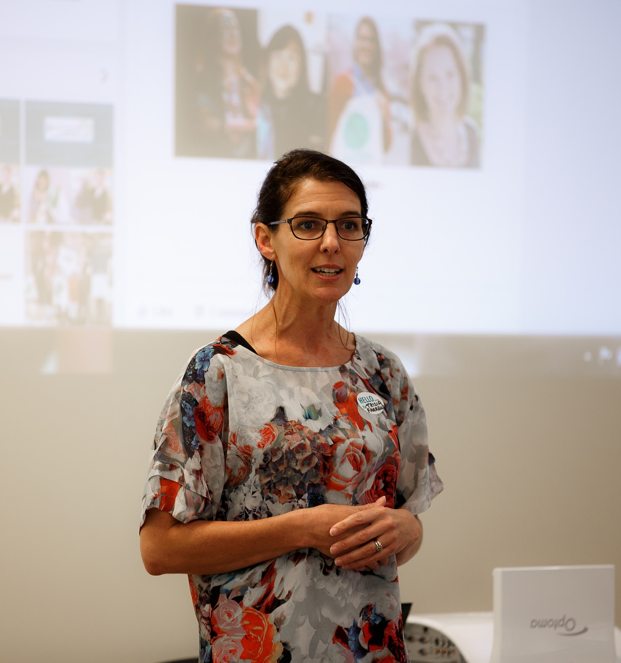 Dr Trisia Farrelly at the Single Use Plastics Forum at Massey University in December 2015.  Photographer: Sy Taffel.