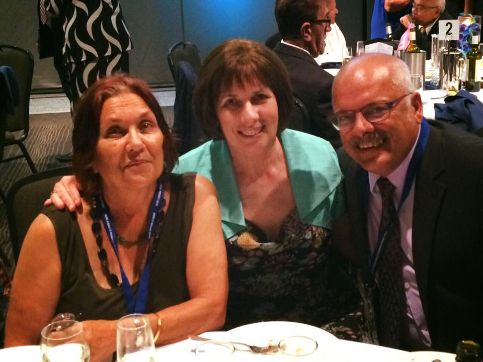 Robyn Andrews (centre) with a New Zealand contingent at the 10th World Anglo-Indian Reunion in Sydney in January 2016. Photo: Robyn Andrews via  Anglo-Indians in New Zealand Facebook page