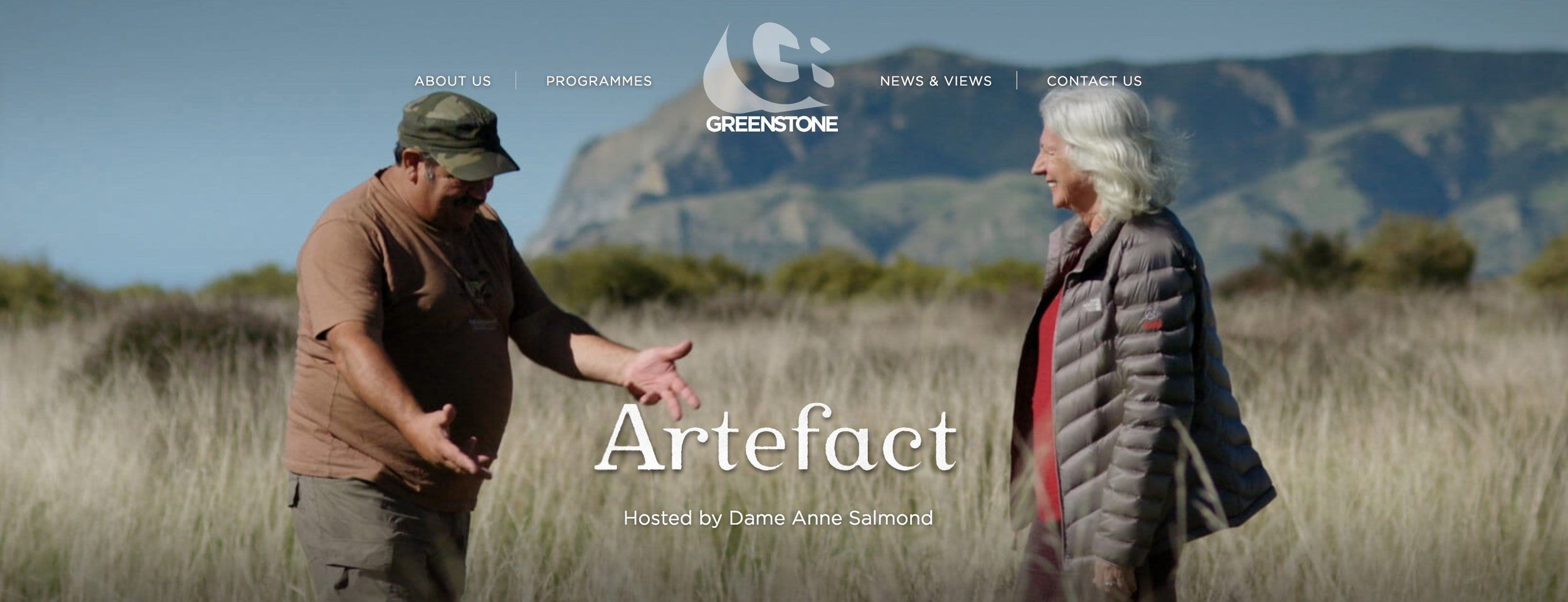Image from  http://www.greenstonetv.com/our-programmes/artefact/