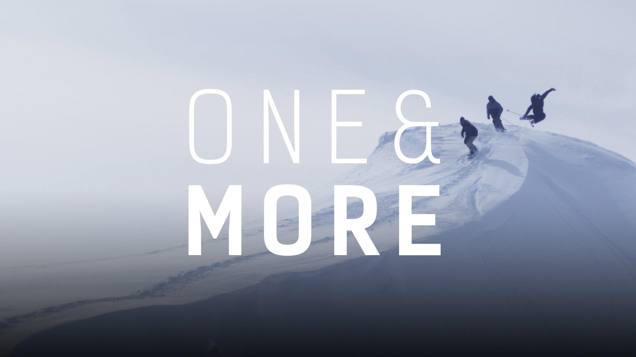 One&more full feature ski film