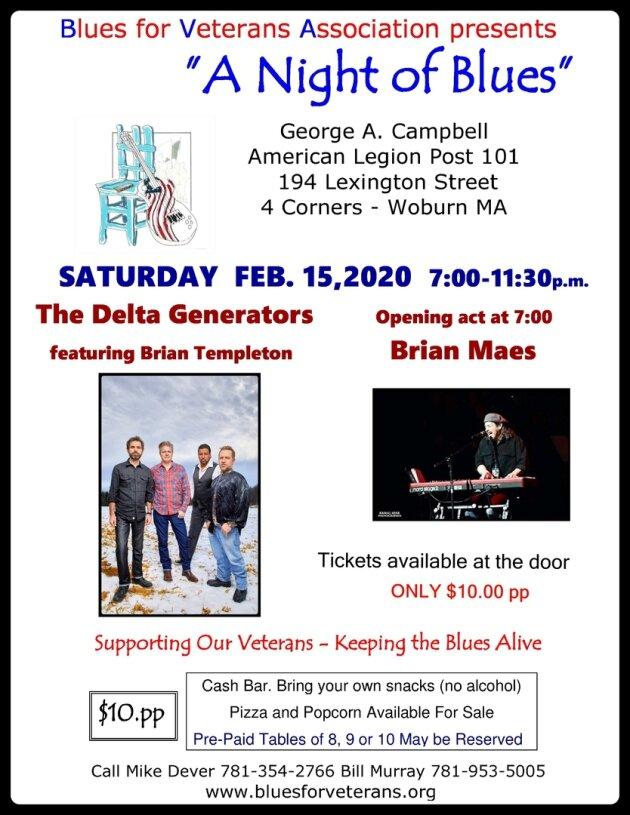 Delta Generators A Night Of Blues Feb 15