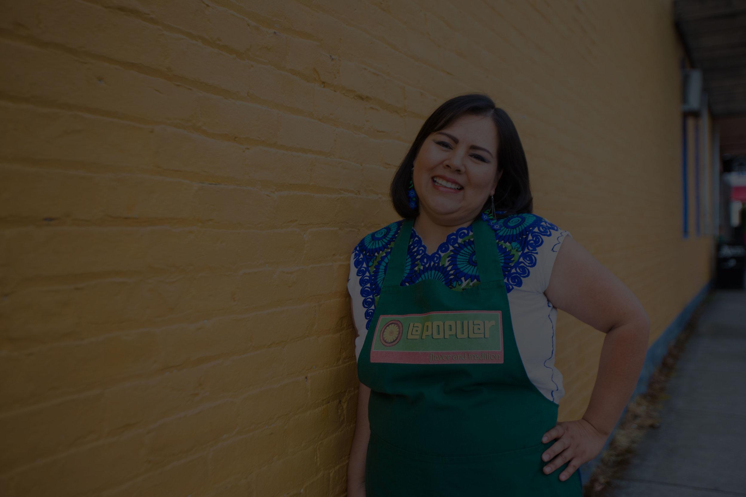 Empresas helped her start her own Business. -