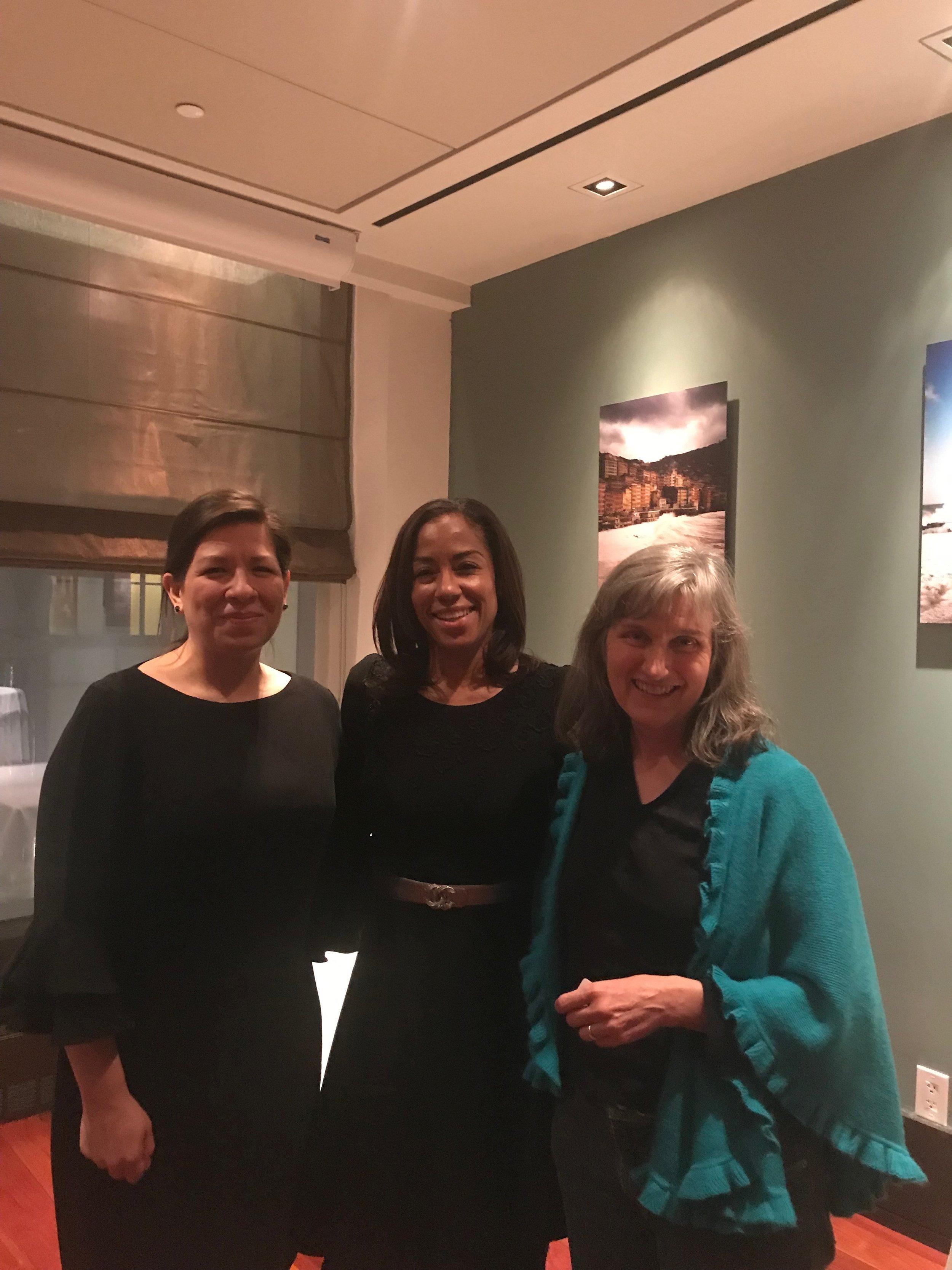 At the Renewal Awards Dinner