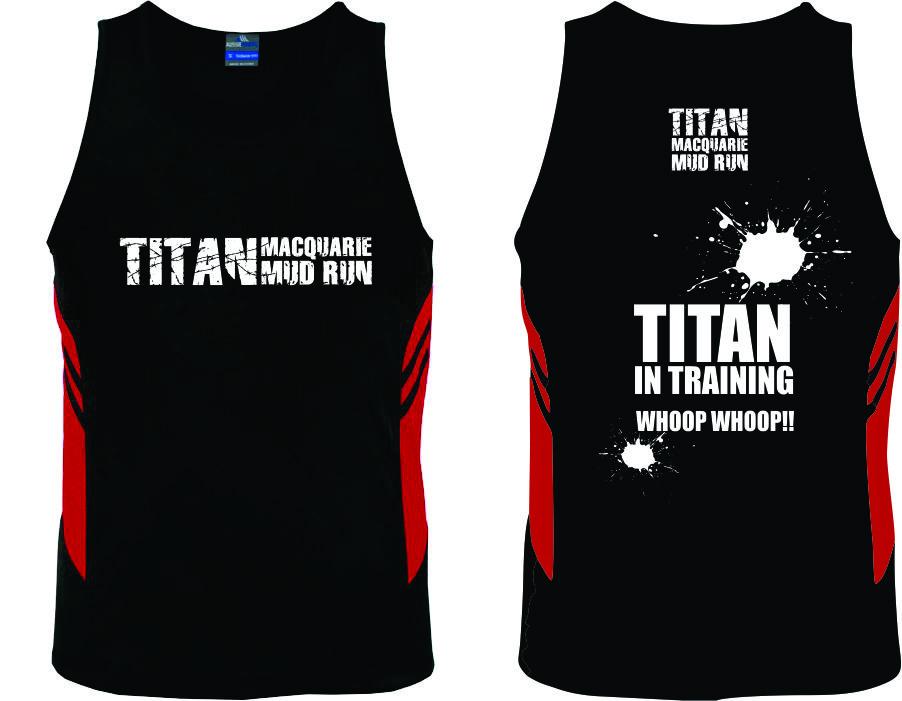 Titan Singlets - Mens and Kids