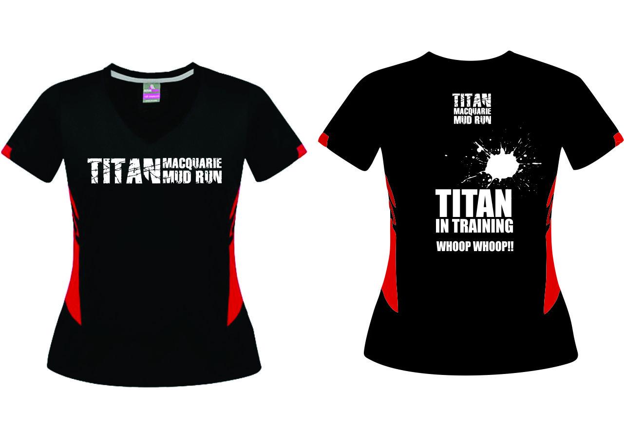Titan T-Shirts - Ladies