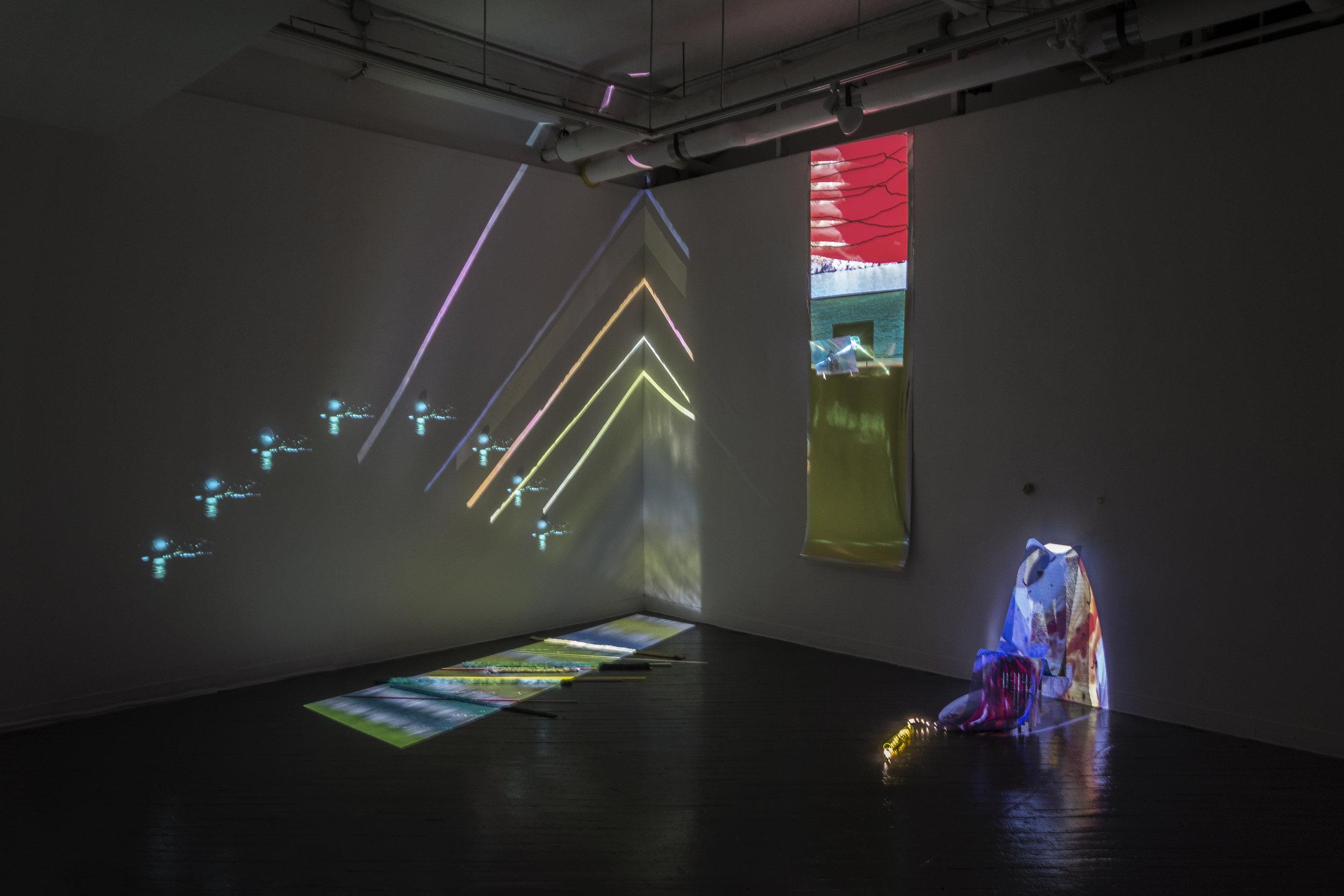 Love Field , installation view